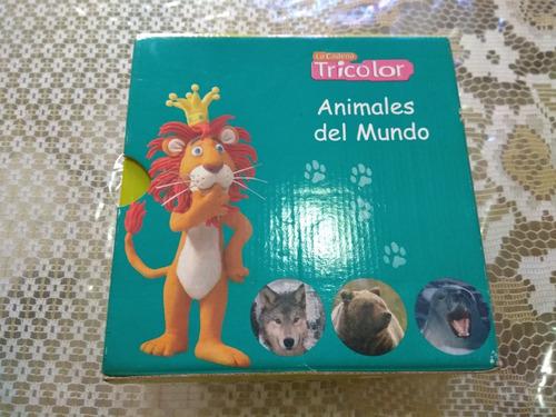 enciclopedia tricolor animales del mundo.