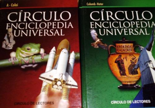 enciclopedia universal círculo de lectores