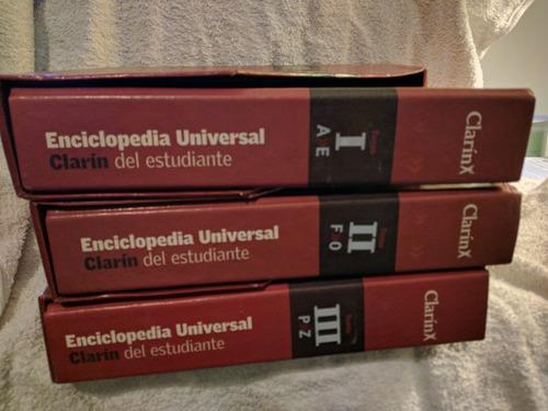 enciclopedia universal clarin el estudiante completa 3 tomo
