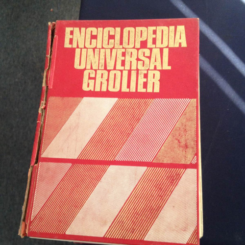 enciclopedia universal grolier cinco tomos