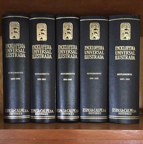 enciclopedia universal ilustrada espasa calpe