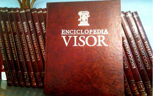 enciclopedia visor 25 tomos sin uso