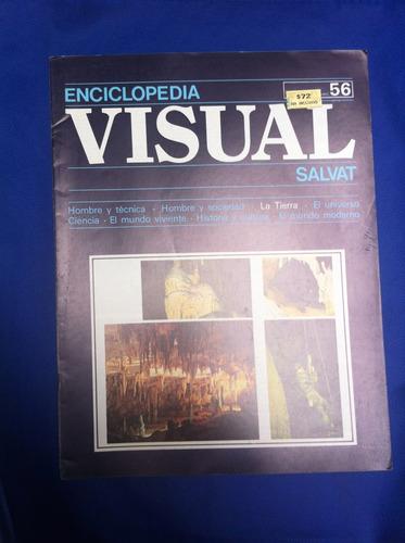enciclopedia visual salvat fasciculo nº56 antiguo