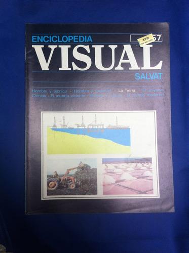 enciclopedia visual salvat fasciculo nº57 antiguo