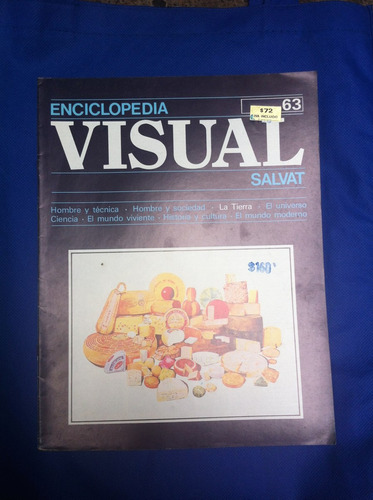 enciclopedia visual salvat fasciculo nº63 antiguo