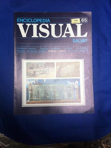 enciclopedia visual salvat fasciculo nº65 antiguo