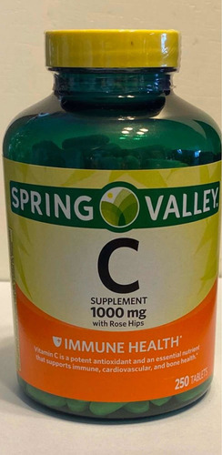 enciclopedia vitamina c 1000mg 250 pepas