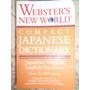 Diccionario Japonés - Inglés (romanizado) Compacto Webster