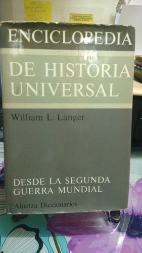 encilopedia de historia universal  // langer