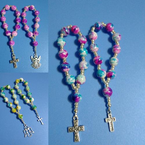 encintados denarios multicolor recuerdos para bautizo y otro