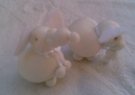 encintados  elefantitos de colores