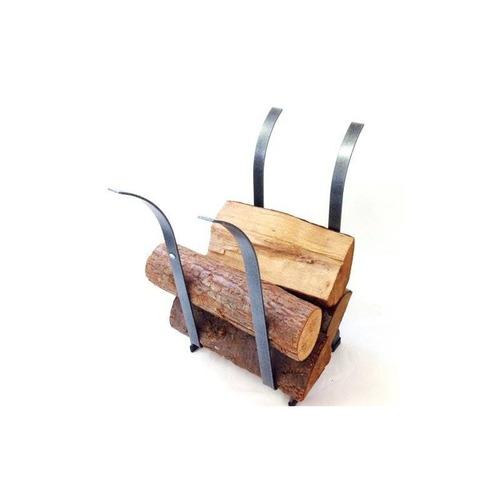 enclume tulip log rack, acero martillado + envio gratis