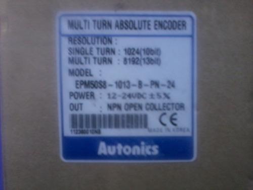 encoder absoluto autonics multivuelta salida paralela