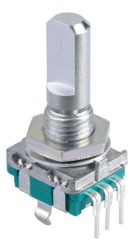 encoder rotativo c/ pulsador 20 pulsos vuelta arduino pic