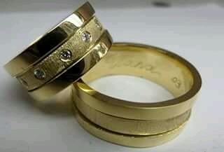 d02176d4f38 Encontre Aqui Diversos Modelos De Alianças De Ouro. - R  1.480