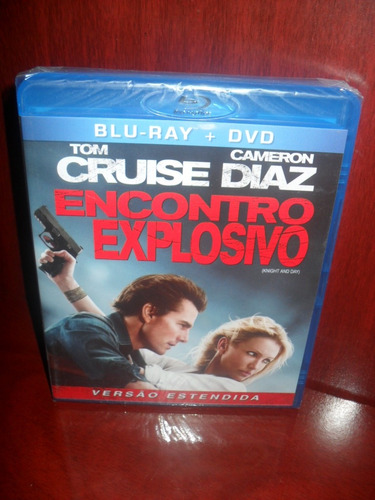 encontro explosivo blu-ray + dvd original lacrado