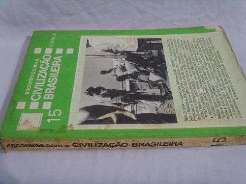 encontros com a civilização brasileira - 15  - 1979