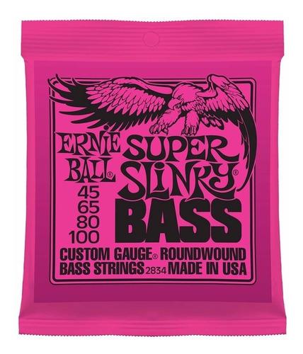 encordado bajo 4c ernie ball 045-100 super slinky - oddity