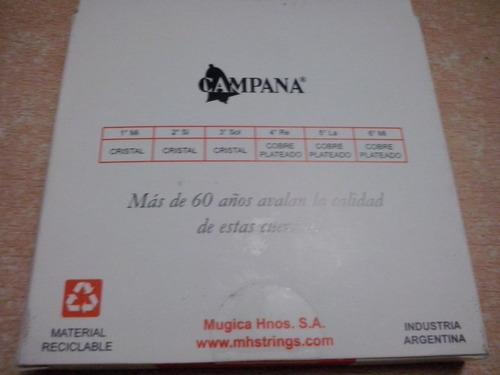 encordado campana export criolla cuerdas de nylon