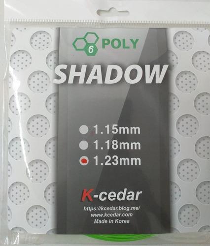 encordado cuerda set individual k-cedar shadow - hexagonal