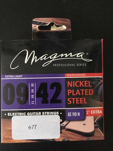 encordado de guitarra electrica 09 magma