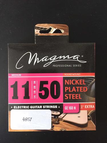 encordado de guitarra electrica magma 011