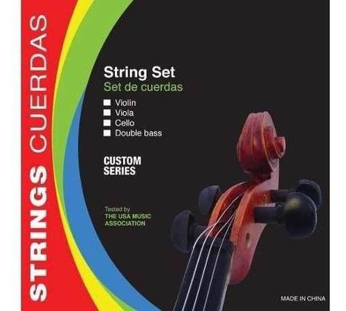 encordado de violonchelo 4/4 parquer custom de acero estudio