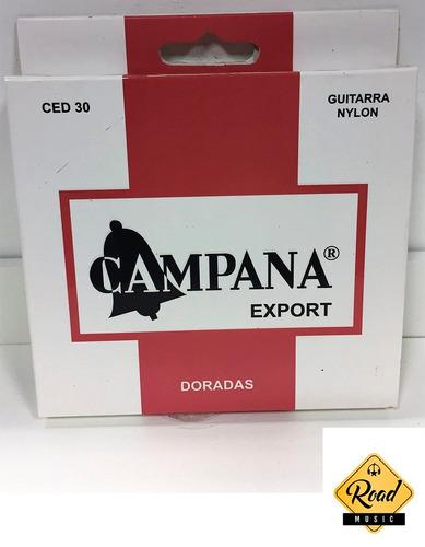encordado guit. clasica campana exp. doradas
