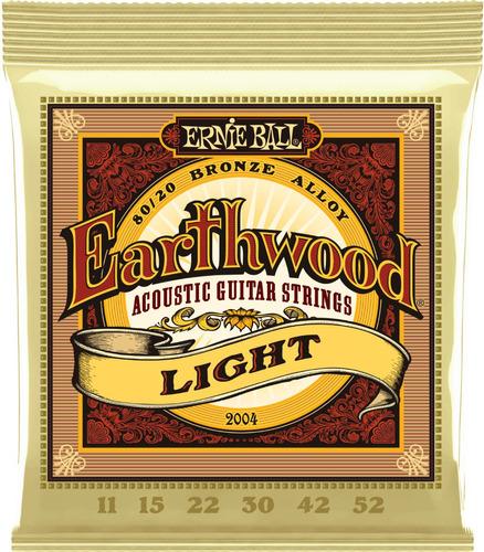 encordado guitarra acústica ernie ball earthwood .011 2004