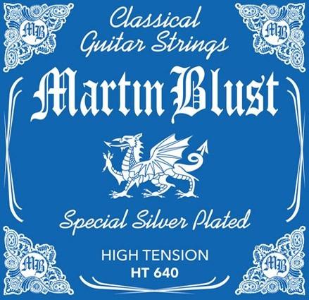 encordado guitarra clásica criolla martín blust tensión alta