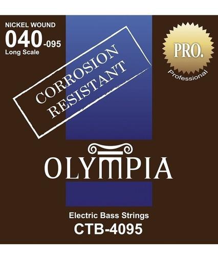 encordado olympia de bajo 4 cuerdas 040 095 - los chiquibum