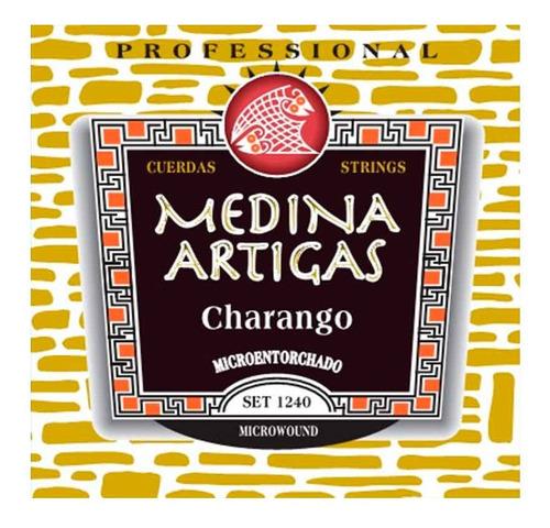encordado para charango medina artigas 1240 special
