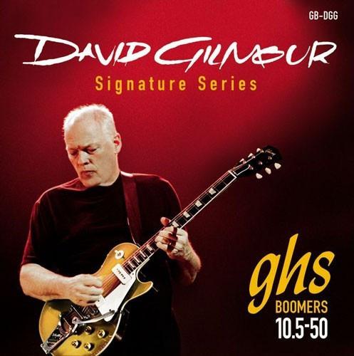 encordado para guitarra electrica david gilmour red signature 010.5 - 50