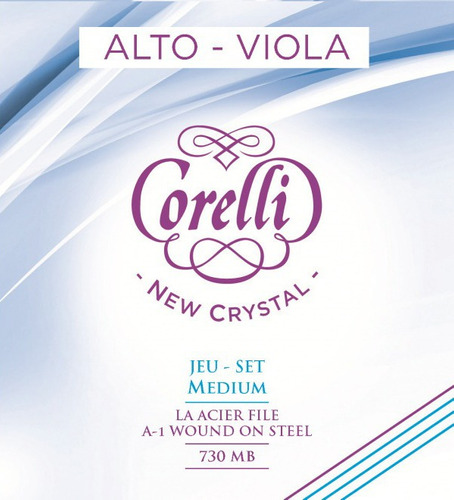 encordado savarez corelli 730mb new cristal medium viola