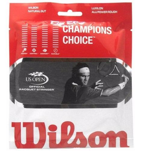 encordado wilson  champions choise calibre 16
