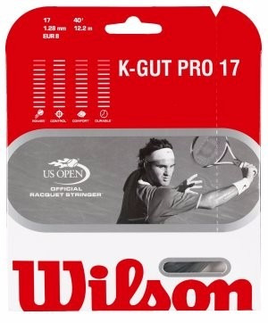 encordado wilson k-gut pro17 12,2 metros calibre17  1.28 mm
