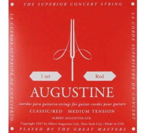 encordoamento augustine classic red violão