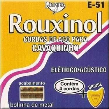 encordoamento cavaquinho rouxinol e-51