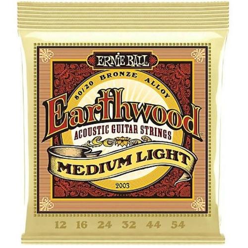 encordoamento cordas violão ernie ball earthwood 012 2003
