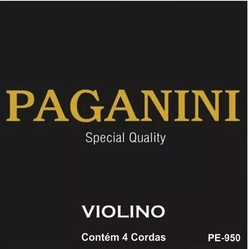 encordoamento de violino corda paganini special qualit pe950