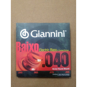 Encordoamento Giannini Baixo 4c 040