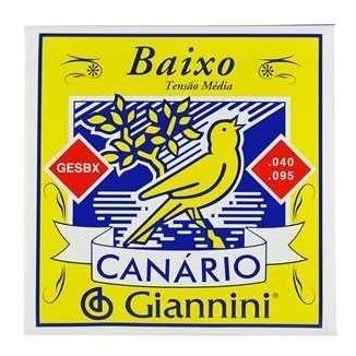 encordoamento para contra-baixo canario - 40007 giannini