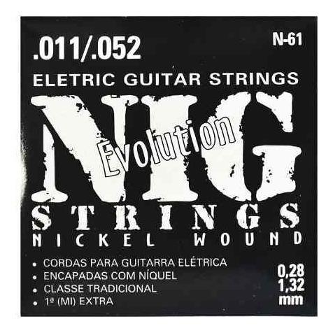 encordoamento para guitarra evolution - 40561 nig strings