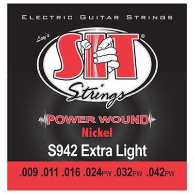 encordoamento para guitarra extra light 009 s942 sit
