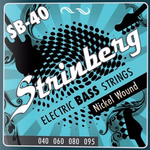 encordoamento strinberg contra baixo 4 cordas sb-40 0.40