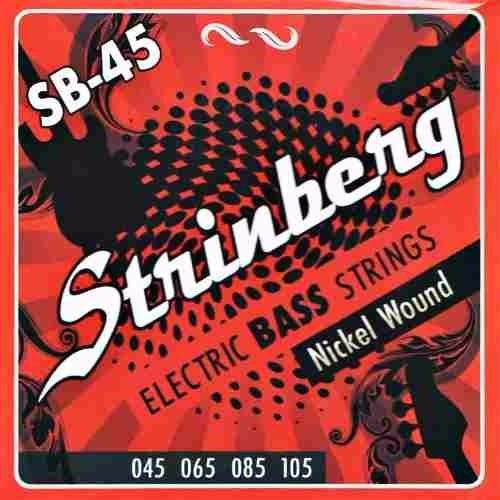 encordoamento strinberg sb45 p/ contra baixo 4 cordas 045