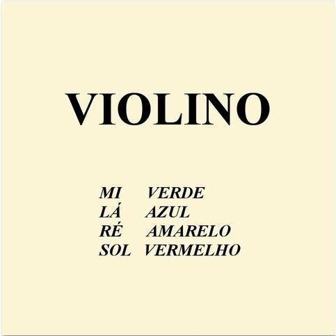 encordoamento violino mauro calixto