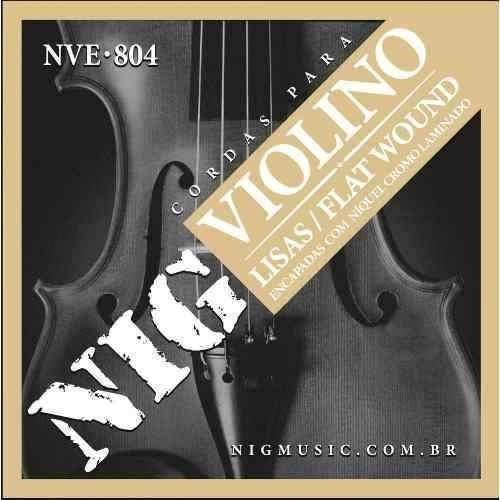 encordoamento violino nig nve-804