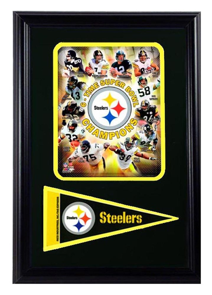 Encore Select 111 - 44 Nfl Pittsburgh Steelers Enmarcado 6 V ...