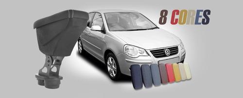 encosto apoio de braço volkswagen polo hatch ou sedan 02 15